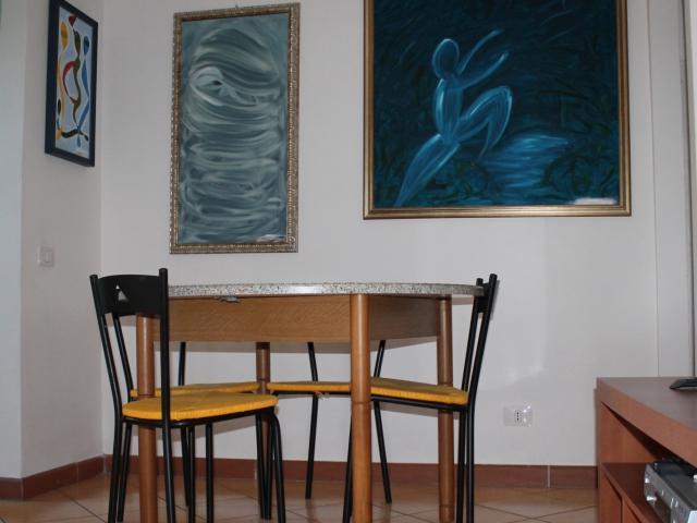 Sala da pranzo ed angolo tv